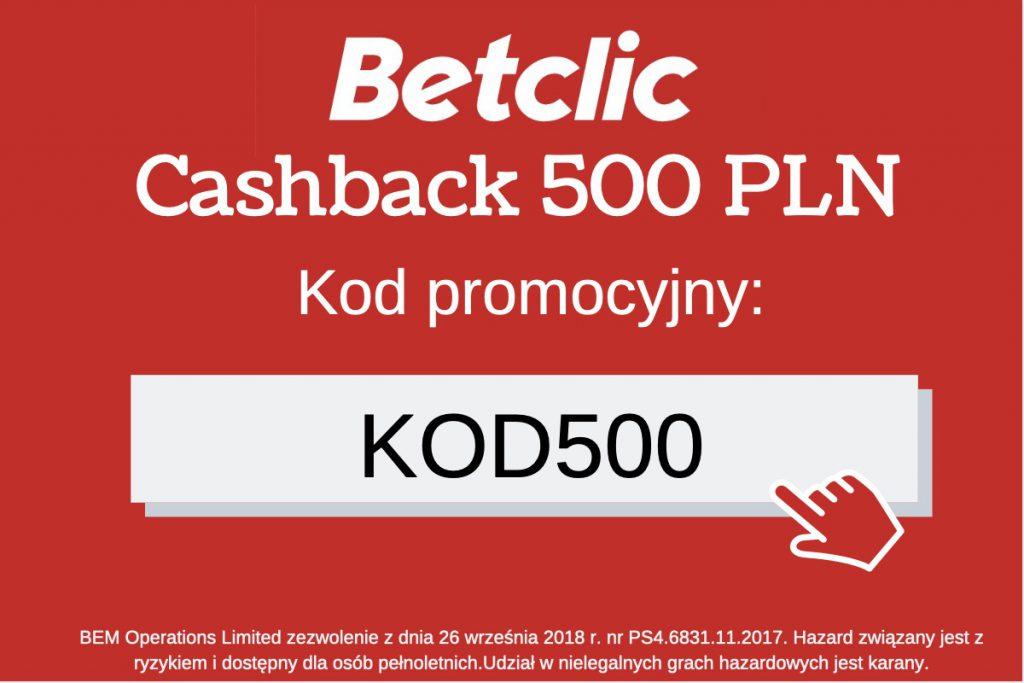 betclic kod promocyjny KOD500